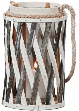 windlicht pato mit kordel zum h ngen shabby landhaus laterne h 22cm ebay. Black Bedroom Furniture Sets. Home Design Ideas