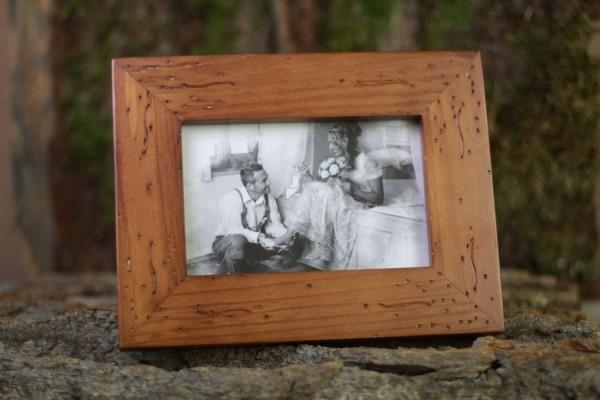 Bilderrahmen Antik Holz : bilderrahmen maron holz fotorahmen antik edel ~ Buech-reservation.com Haus und Dekorationen