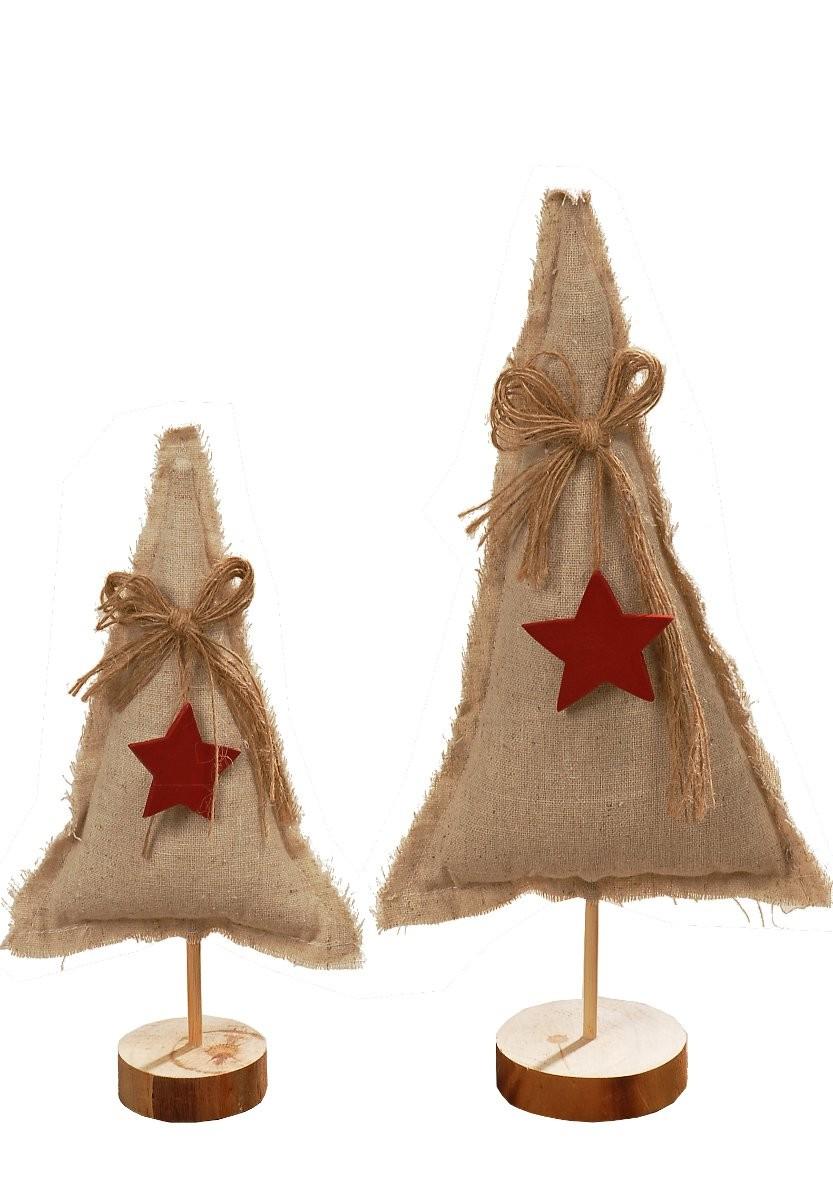 deko weihnachts baum fairy aus jutte mit holz stern. Black Bedroom Furniture Sets. Home Design Ideas