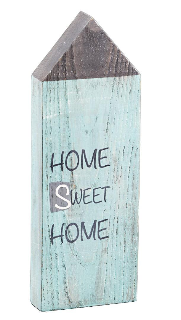 holzhaus home sweet home shabby landhaus deko figur h. Black Bedroom Furniture Sets. Home Design Ideas
