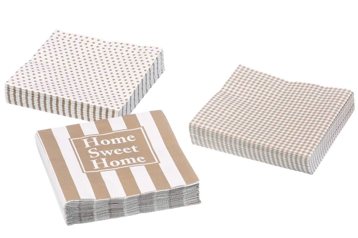 Papierservietten Home Sweet Home Servietten Landhausstil