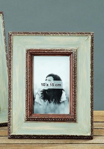 bilderrahmen shabby landhaus fotorahmen wei braun 20x26. Black Bedroom Furniture Sets. Home Design Ideas