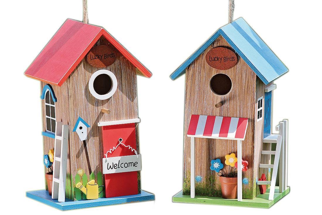 vogelhaus birdy shabby landhaus deko nistkasten. Black Bedroom Furniture Sets. Home Design Ideas