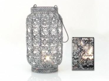 Windlicht pigna landhaus impressionen metall ornamente for Windlicht rostoptik