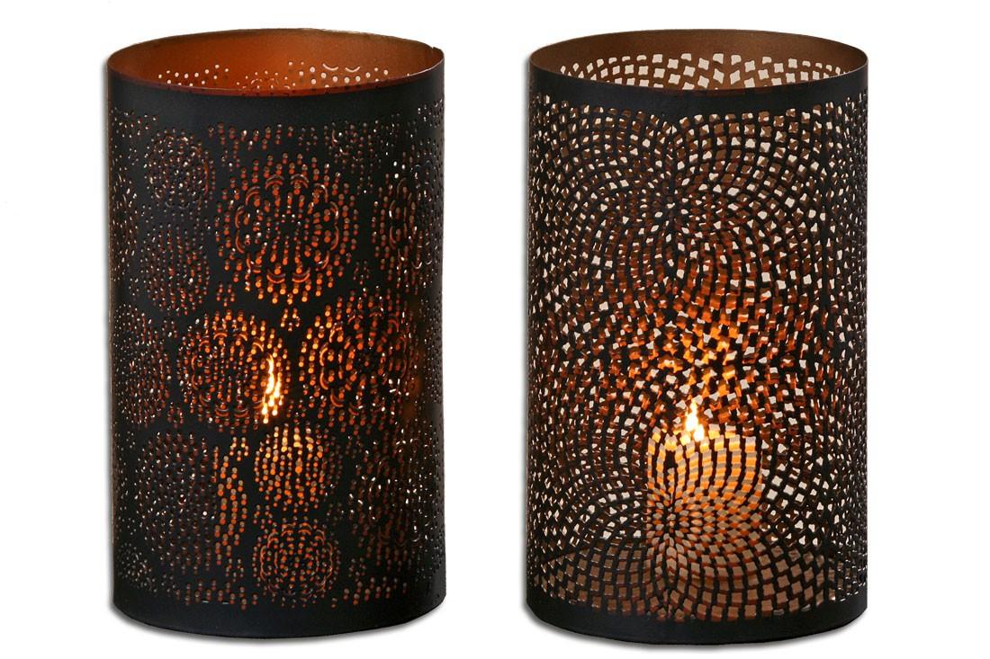 orientalisches windlicht casa flower landhaus f r teelichter und kerzen. Black Bedroom Furniture Sets. Home Design Ideas