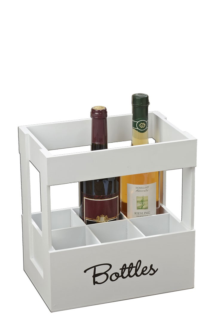 flaschentr ger bottles weinkiste aus holz flaschenhalter. Black Bedroom Furniture Sets. Home Design Ideas