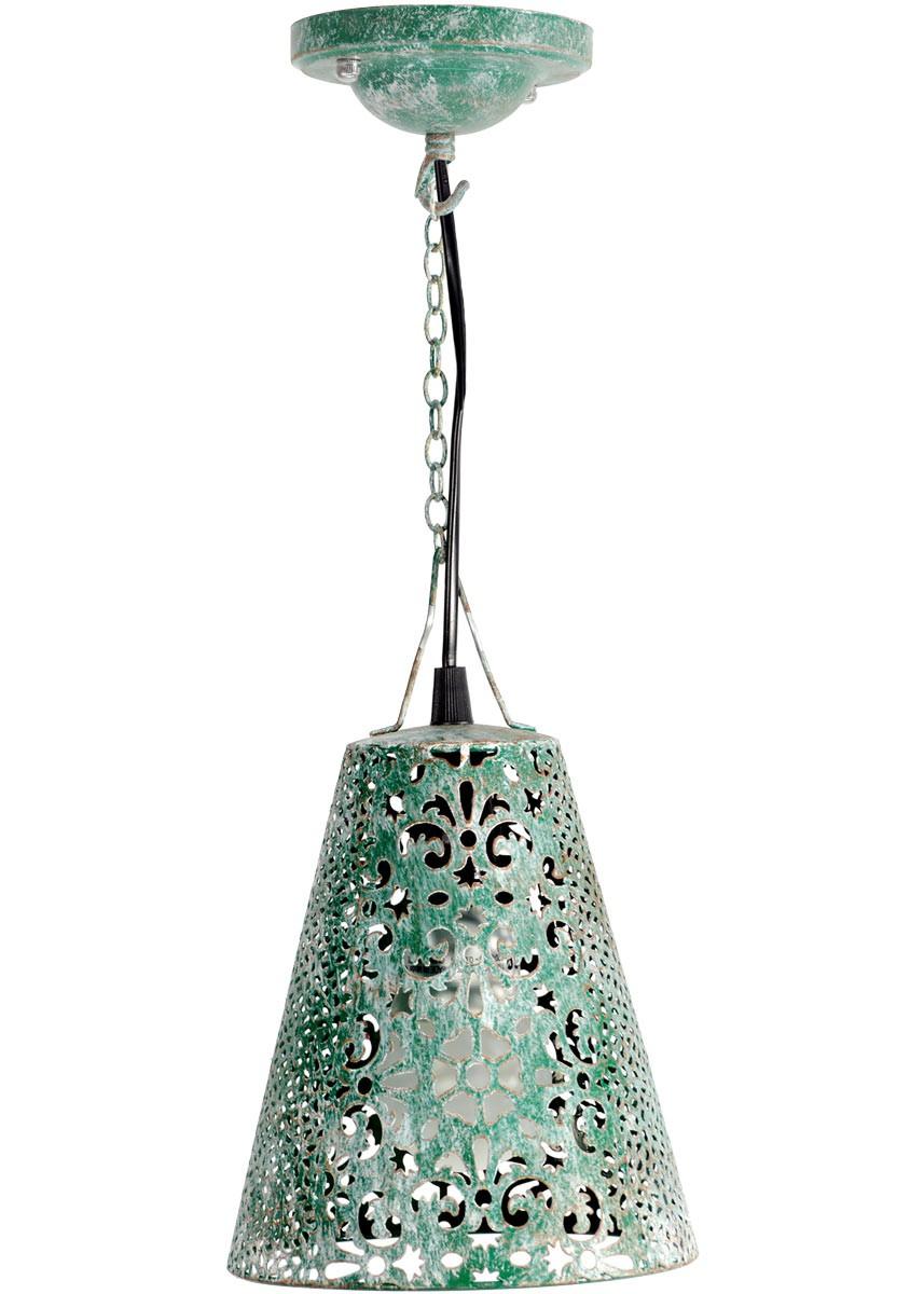 nostalgische lampe vintage ornament deckenlampe metall landhaus gr n. Black Bedroom Furniture Sets. Home Design Ideas