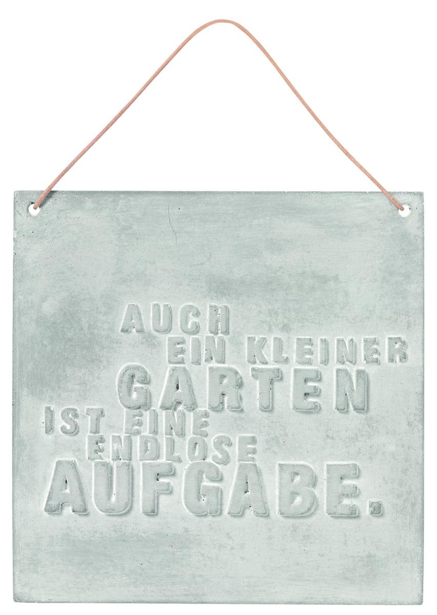 gartentafel schild auch ein kleiner garten schild r der. Black Bedroom Furniture Sets. Home Design Ideas