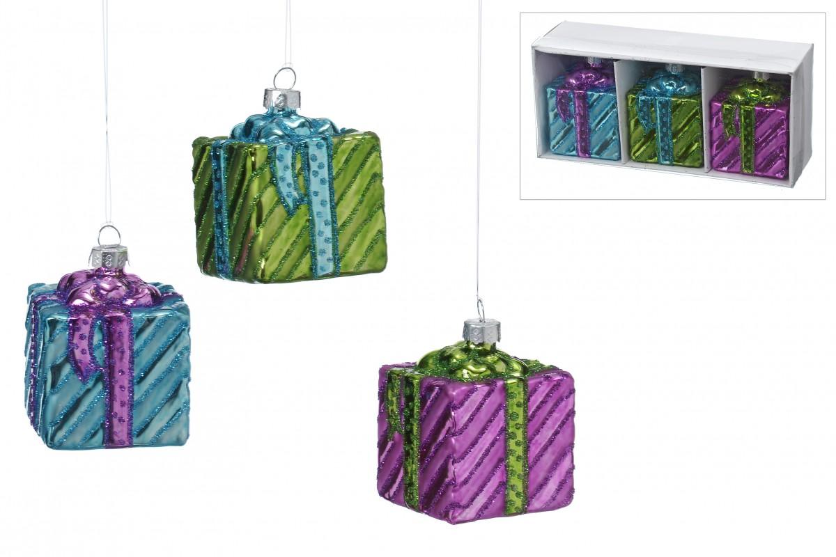 Christbaum schmuck h nger geschenk aus glas baumbehang for Gartenschmuck aus glas