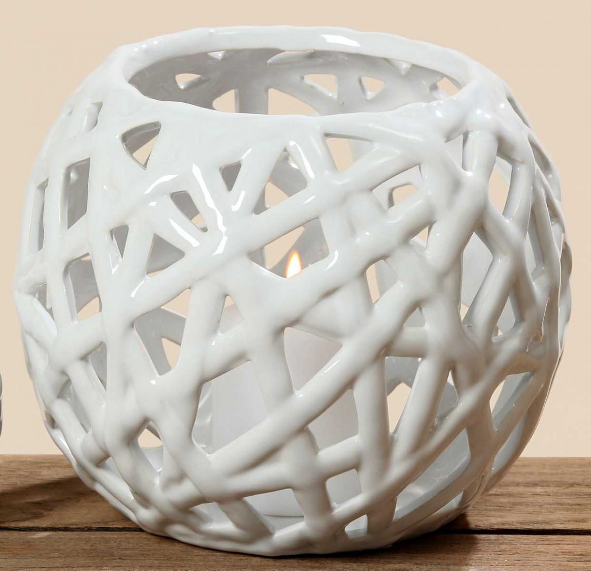 windlicht kate aus porzellan kerzenhalter teelichthalter. Black Bedroom Furniture Sets. Home Design Ideas
